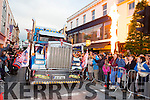 McAulliffes trucks from Castleisland at the USA Independence parade in Killarney on Monday evening
