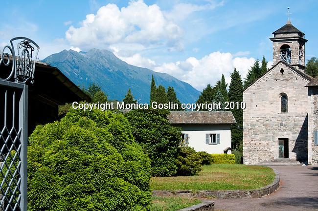The Abbazia Di Pona Monastery on Lake Como, Italy
