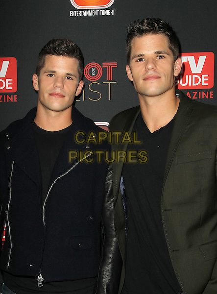 HOLLYWOOD, CA - NOVEMBER 4: Max Carver, Charlie Carver at TV Guide Magazine's Hot List Party at The Emerson Theatre on November 4th, 2013 in Hollywood, California, USA.<br /> CAP/ADM/KB<br /> &copy;Kevan Brooks/AdMedia/Capital Pictures