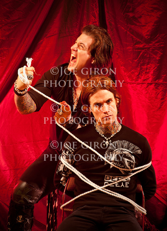 Buckcherry guitarist Keith Nelson & vocalist Josh Todd.