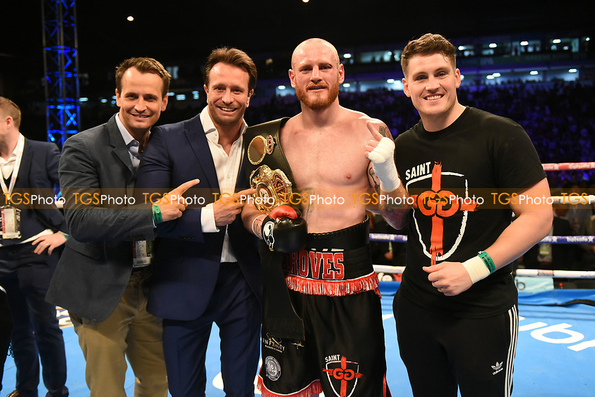 George Groves defeats Fedor Chudinov during a Boxing Show at Bramall Lane on 27th May 2017