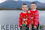 Aodhan O'Halloran Kilcummin and Marcus O'Sullivan firies who will be dancing on the Late Late Toy show