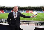 Rangers manager Mark Warburton at the Petrofac Cup Final press conference at Hampden