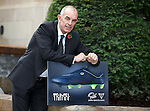 ** SUNDAYS PICTURE ** Scotland legend Joe Jordan at Pele Boots promotion at Hotel du Vin, One Devonshire Gardens