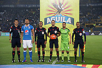 BOGOTA -COLOMBIA, 28-02-2017. Gustavo Gonzalez central referee.Action game between Millonarios and Equidad during match  for the date 6 of the Aguila League I 2017 played at Nemesio Camacho El Campin stadium . Photo:VizzorImage / Felipe Caicedo  / Staff
