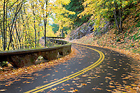 Columbia River Gorge National Scenic Area road. Oregon