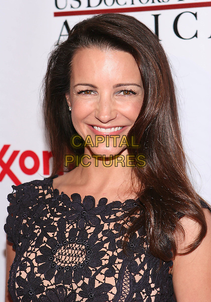 KRISTIN DAVIS .The First Ladies of Africa Health Summit Gala held at The Beverly Hilton, Beverly Hills, CA, USA, 21st April 2009..portrait headshot smiling long black lace layered maxi sleeveless .CAP/ADM/TC.©T. Conrad/Admedia/Capital Pictures