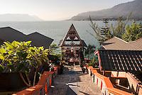 Batak style Samosir Villa Resort, Tuk Tuk, Lake Toba (Danau Toba), North Sumatra, Indonesia