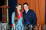 Emer Galvin (Cinderella) and Jimmy Heir (Prince Charming) cast members of the Cinderella panto in the Ballyheigue Community Centre on Friday night.
