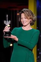 SAN SEBASTIAN, SPAIN – SEPTEMBER 22: Sigourney Weaver receives the Donostia award 2016 to a lifetime achievements during the 64th San Sebastian film festival at the Kursaal in San Sebastian, Spain. January 27, 2016. Credit: Jimmy Olsen/MediaPunch ***NO SPAIN***