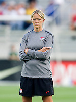 Dawn Scott. The USWNT defeated Japan, 2-0,  at WakeMed Soccer Park in Cary, NC.
