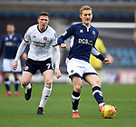 George Saville of Millwall during the championship match at The Den Stadium, Millwall. Picture date 2nd December 2017. Picture credit should read: Robin Parker/Sportimage
