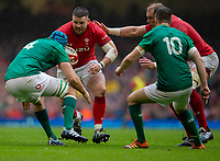 Wales' Rob Evans in action during todays match<br /> <br /> Photographer Bob Bradford/CameraSport<br /> <br /> Guinness Six Nations Championship - Wales v Ireland - Saturday 16th March 2019 - Principality Stadium - Cardiff<br /> <br /> World Copyright © 2019 CameraSport. All rights reserved. 43 Linden Ave. Countesthorpe. Leicester. England. LE8 5PG - Tel: +44 (0) 116 277 4147 - admin@camerasport.com - www.camerasport.com