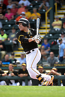 Pittsburgh Pirates shortstop Jung Ho Kang (27) during the Black & Gold intrasquad game on March 2, 2015 at McKechnie Field in Bradenton, Florida.  (Mike Janes/Four Seam Images)