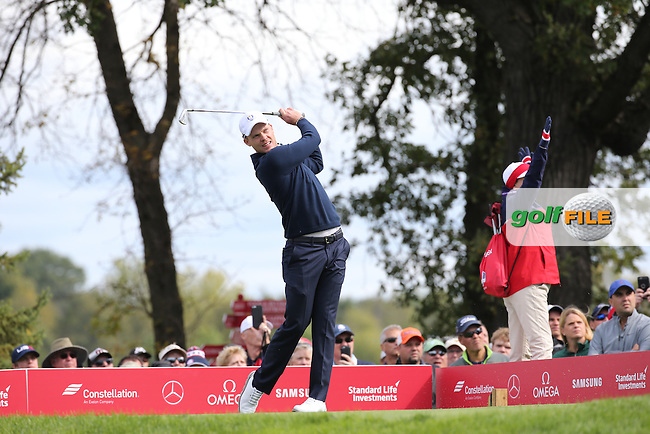 Danny Willett (Team Europe) during Tuesday's Practice Round ahead of The 2016 Ryder Cup, at Hazeltine National Golf Club, Minnesota, USA.  27/09/2016. Picture: David Lloyd   Golffile.