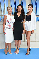 Carol, Jessica &amp; Natalya Wright arriving for the &quot;Mama Mia! Here We Go Again&quot; world premiere at the Eventim Apollo, Hammersmith, London, UK. <br /> 16 July  2018<br /> Picture: Steve Vas/Featureflash/SilverHub 0208 004 5359 sales@silverhubmedia.com