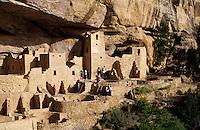 Mesa Verde Indian cliff dwellings in Colorado USA