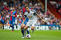 Sun 22 September 2013<br /> <br /> Pictured: Michu of Swansea takes the ball forward<br /> <br /> Re: Barclays Premier League Crystal Palace FC  v Swansea City FC  at Selhurst Park, London