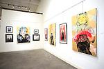 SANTA MONICA - JUN 25: David Bromley LA Women at the David Bromley LA Women Art Exhibition opening reception at the Andrew Weiss Gallery on June 25, 2016 in Santa Monica, California