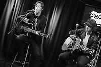 BALA CYNWYD, PA - OCTOBER 21 :  Catfish and the Bottlemen visit Radio 104.5 performance studio in Bala Cynwyd, Pa on October 21, 2016  photo credit  Star Shooter/MediaPunch