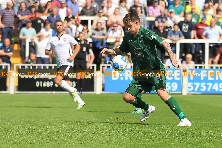 Andy Cook of Tranmere Rover during Bromley vs Tranmere Rovers, Vanarama National League Football at Hayes Lane on 6th August 2016