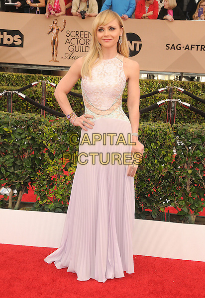 30 January 2016 - Los Angeles, California - Christina Ricci. 22nd Annual Screen Actors Guild Awards held at The Shrine Auditorium.      <br /> CAP/ADM/BP<br /> &copy;BP/ADM/Capital Pictures