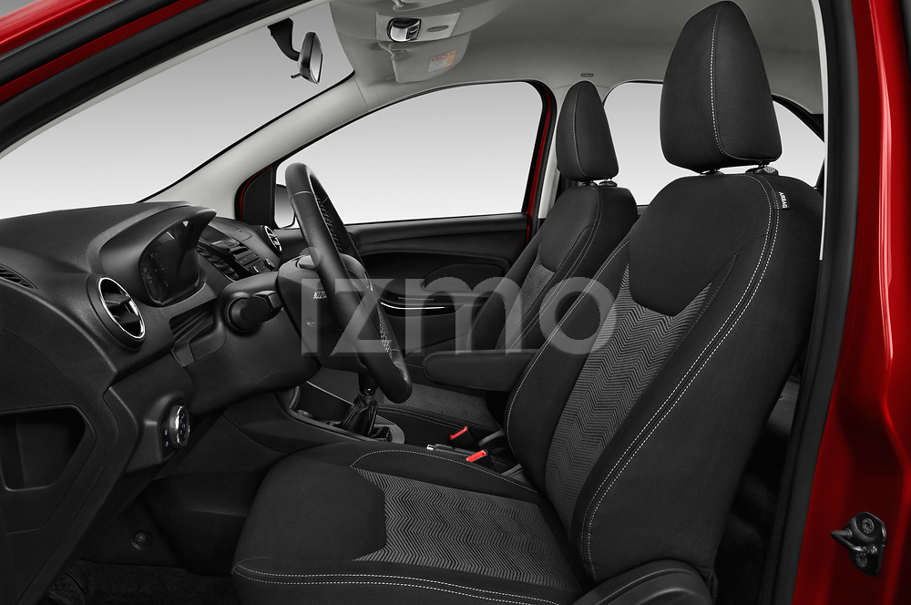 Front seat view of 2017 Ford KA+ Ultimate 5 Door Hatchback Front Seat  car photos