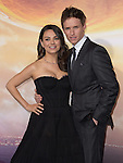 Mila Kunis Kutcher and Eddie Redmayne attends Warner Bros. Pictures L.A. Premiere of Jupiter Ascending held at The TCL Chinese Theater  in Hollywood, California on February 02,2015                                                                               © 2015 Hollywood Press Agency