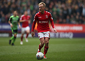 24th March 2018, The Valley, London, England;  English Football League One, Charlton Athletic versus Plymouth Argyle; Ben Reeves of Charlton Athletic in action