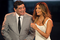 Zurigo 09-01-2017 FIFA Football Awards - Diego Maradona and Eva Longoria during the Best FIFA Football Awards 2016 in Zurich<br /> Foto Steffen Schmidt/freshfocus/Insidefoto