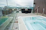 hot tub on top of the Merchant Hotel in Belfast