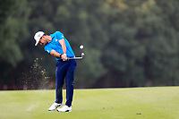 Xander Schauffele (USA) on the 9th fairway during round 1 at the WGC HSBC Champions, Sheshan Golf Club, Shanghai, China. 31/10/2019.<br /> Picture Fran Caffrey / Golffile.ie<br /> <br /> All photo usage must carry mandatory copyright credit (© Golffile | Fran Caffrey)