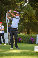 Bubba Watson (USA) watches his tee shot on 8 during round 1 of the World Golf Championships, Mexico, Club De Golf Chapultepec, Mexico City, Mexico. 2/21/2019.<br /> Picture: Golffile | Ken Murray<br /> <br /> <br /> All photo usage must carry mandatory copyright credit (© Golffile | Ken Murray)
