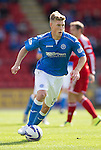 St Johnstone v Aberdeen...23.08.14  SPFL<br /> David Wotherspoon<br /> Picture by Graeme Hart.<br /> Copyright Perthshire Picture Agency<br /> Tel: 01738 623350  Mobile: 07990 594431