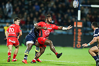 Josua Tuisova of Toulon during the French Top 14 match between Agen and Toulon at Stade Armandie on November 4, 2017 in Agen, France. (Photo by Manuel Blondeau/Icon Sport)