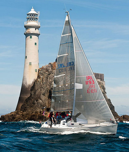 the unique Fastnet Rock is a symbolically-important turning point