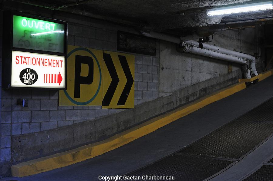 Stationnement sous-terrain