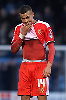 Dele Alli of MK Dons reaction at the final whistle after losing at Gillingham during Gillingham vs MK Dons, Sky Bet League One Football at the MEMS Priestfield Stadium on 14th February 2015