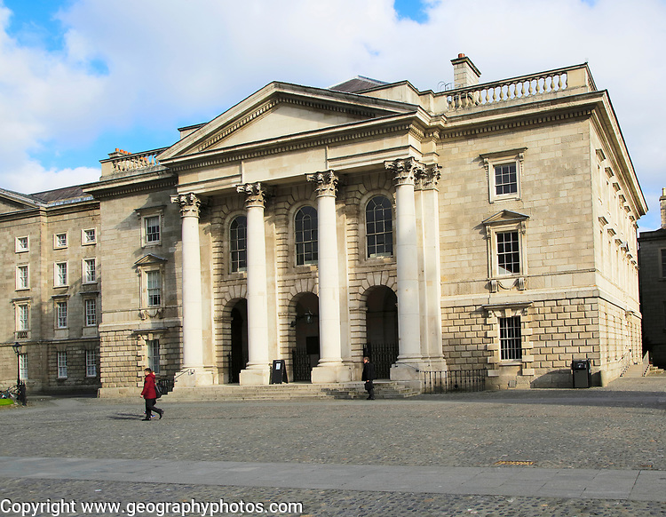 Trinity College university chapel, city of Dublin, Ireland, Irish Republic