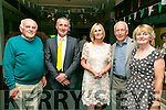 Enjoying the Na Gaeil GAA  25 years Celebration  of their clubhouse on Saturday were l-r  Pat O'Connor, Aidan Carmody, Avril Carmody, Donal Lucey and Ann Marie Lucey