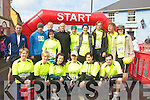 CRUSADERS: Kerry crusaders who ran for the Kerry Carers association on Saturday in the Ballybunion Mini Marathon,they were, Trish Stack, Kay McDonnell, Geraldine Gallagher, Elaine Keane, Mary Gleeson, Vincent O'Leary, Michael Kelly, Thomas Silles, Joe Houlihan, Redmond Quigley, Gordan Fleming, Maura Fitzmaurice, Kevin Wolfe, Kevin Greaney,Elaine Breen and Mary Williams (Listowel).................................. ....