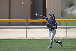 Wildcats' Melanie Mecham makes a play against College of Southern Nevada's Dacia Sykes at Edmonds Sports Complex Carson City, Nev., on Saturday, May 2, 2015.<br /> Photo by Cathleen Allison