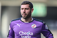 Paul Jones of Crawley Town during the Sky Bet League 2 match between Luton Town and Crawley Town at Kenilworth Road, Luton, England on 12 March 2016. Photo by David Horn/PRiME Media Images.