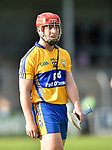 A disappointed Michael O Shea  of Clare following their Munster U-21 hurling quarter final against Limerick at Cusack park. Photograph by John Kelly.