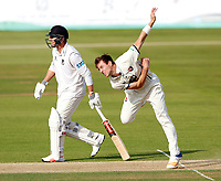 Matt Henry bowls for Kent during the Specsavers County Championship Div 2 game between Kent and Sussex at the St Lawrence Ground, Canterbury, on May 11, 2018