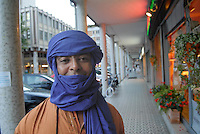 "- a small community of Tuareg, the legendary ""blue men"" of Sahara, coming from, Niger has settled in Pordenone, town of Italian northeast, being able to achieve a good degree of integration although in the respect of their traditional culture; Haddo Oubana El Hadji in traditional clothes....- una piccola comunità di Tuareg, i leggendari ""uomini blu"" del Sahara, provenienti dal Niger, si sono stabiliti a Pordenone, città del nord-est italiano, riuscendo a conseguire un buon grado di integrazione pur nel rispetto della loro cultura tradizionale; Haddo Oubana El Hadji in costume tradizionale"