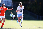CARY, NC - NOVEMBER 19: North Carolina's Joanna Boyles. The University of North Carolina Tar Heels hosted the Princeton University Tigers on November 19, 2017 at Koka Booth Stadium in Cary, NC in an NCAA Division I Women's Soccer Tournament Third Round game. Princeton won 2-1 in sudden death overtime.