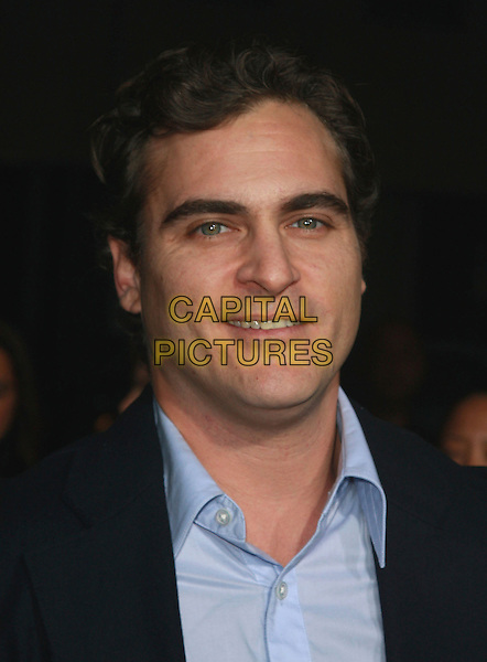 "JOAQUIN PHOENIX.""Reservation Road"" Los Angeles Premiere held at the Samuel Goldwyn Theatre Academy Of Motion Picture Arts and Sciences,B everly Hills, California, USA,.18 October 2007..portrait headshot.CAP/ADM/CH.©Charles Harris/AdMedia/Capital Pictures."