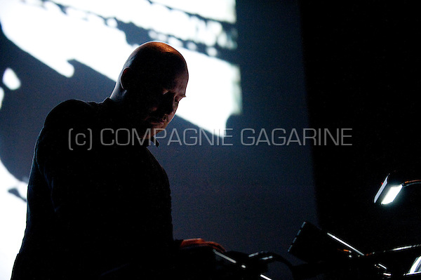 Icelandic musician, composer and producer Jóhann Jóhannsson at the Brussels Electronic Music Festival (Belgium, 28/03/2010)