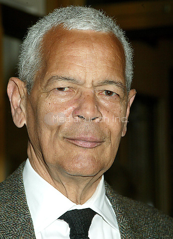 Politician Julian Bond pictured at the arrivals for the Opening Night performance of the Broadway play FROST NIXON at the Bernard B. Jacobs Theatre in New York City. April 22, 2007 © Joseph Marzullo / MediaPunch